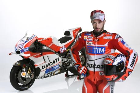 Andrea Dovizioso será el compañero de Lorenzo en Ducati