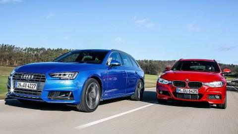 Audi A4 Avant vs BMW Serie 3 Touring
