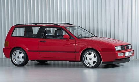 Dos 'desconocidos' Volkswgen Corrado a la venta