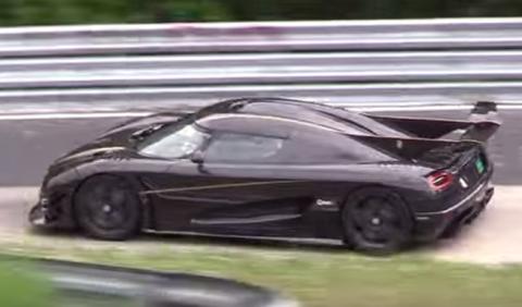 Koenigsegg quiere batir récord de velocidad de Nürburgring