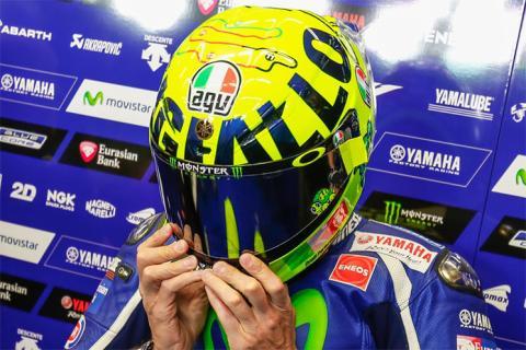Así es el casco de Valentino Rossi para Mugello 2016