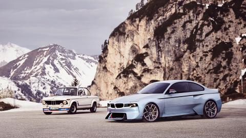 BMW 2002 Hommage original