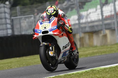Iannone bate el récord de velocidad en MotoGP: ¡354,9 km/h!
