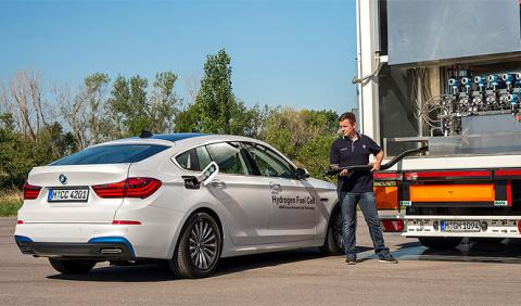 Para BMW el futuro del automóvil pasa por el hidrógeno