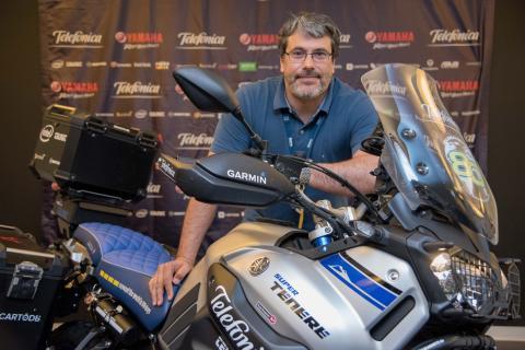 Yamaha y Telefónica se unen para dar la vuelta al mundo