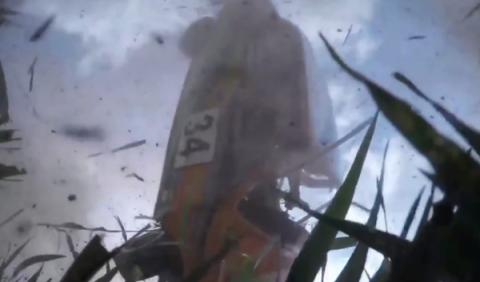 Esta cámara graba un terrible accidente en un rally