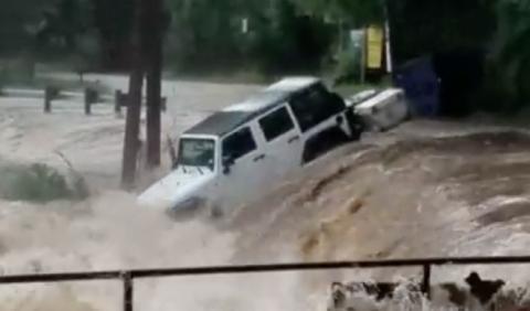 Vídeo: nunca aparques tu coche en una zona inundable