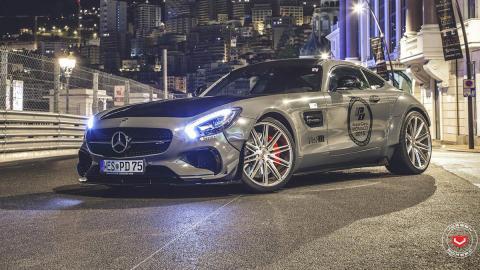 Mercedes-AMG GT preparado por Prior Design