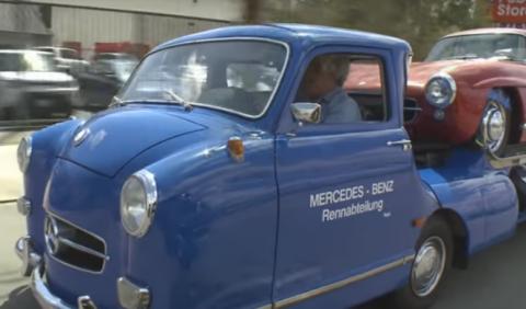 Vídeo: Jay Leno conduce el Mercedes-Benz 'Blue Wonder'
