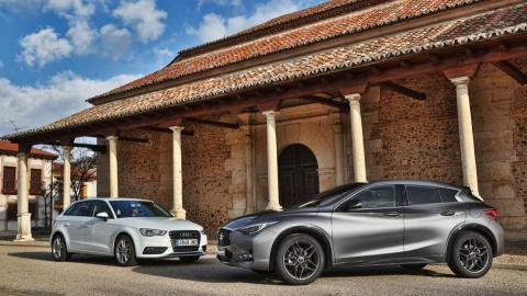 Infiniti Q30/Audi A3