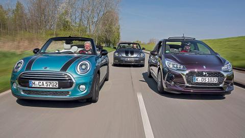 Comparativa cabrios: Citroën DS3/Mini Cooper/VW Beetle