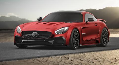 Mercedes-AMG GT preparado Mansory