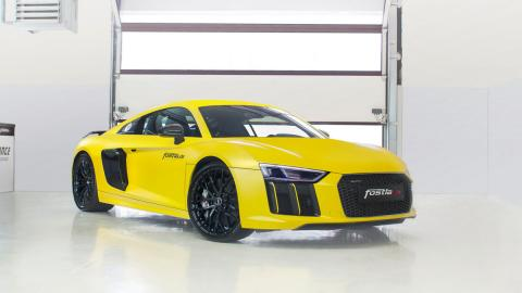 Audi R8 V10 Plus, el amarillo no te sienta nada mal