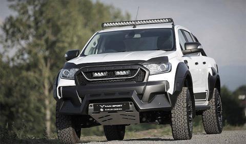 Ford Ranger M-Sport by Van Sport, el guardabosques racing