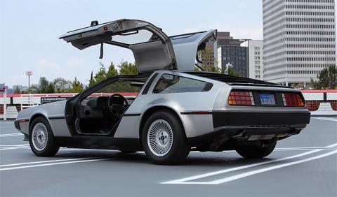 Se subasta un DeLorean original en perfecto estado