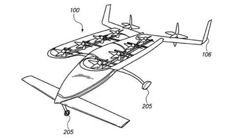 coche volador google