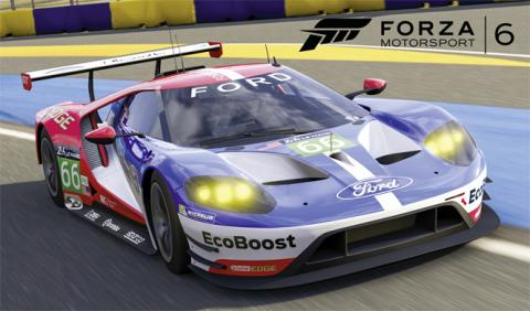 Ford GT de LeMans, disponible en el Forza Motorsport 6