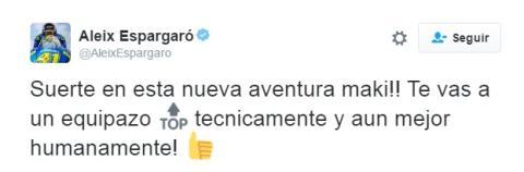 Aleix Espargaró Twitter