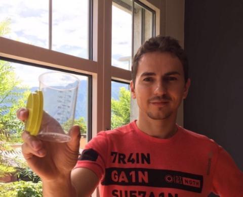 Control antidopaje para Jorge Lorenzo: ¡sorpresa!