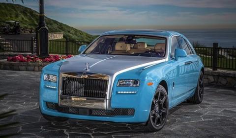 Los cinco mejores colores para un Rolls-Royce