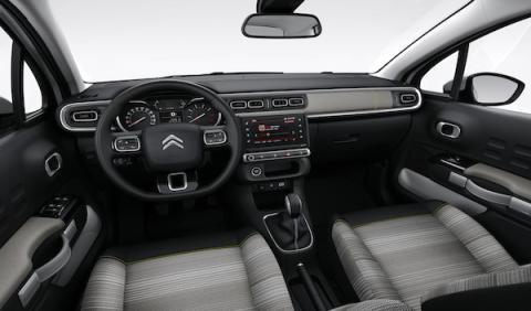 Interior nuevo Citroën C3 2016
