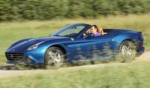 Prueba: nuevo Ferrari California T