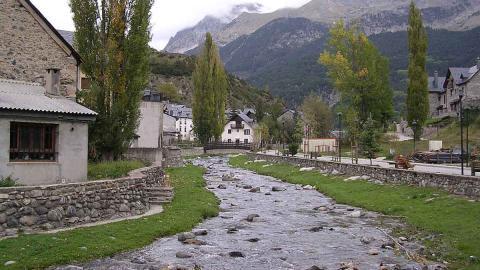 Sallent de Gállego, Huesca.