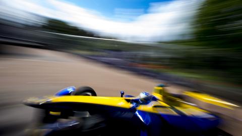 Fórmula E 2016, Londres 1: Prost gana sin rival
