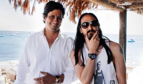 Steve Aoki diseña un reloj en Ibiza