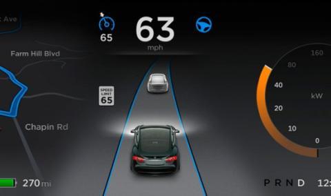Tesla sigue apostando por su piloto automático