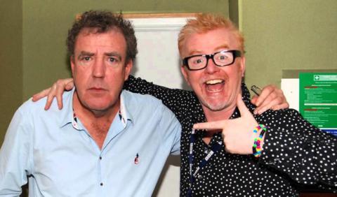 ¿Cuál es mejor, Jeremy Clarkson o Chris Evans?