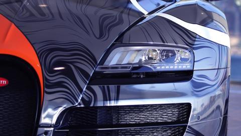 Bugatti Veyron Super Sport faro