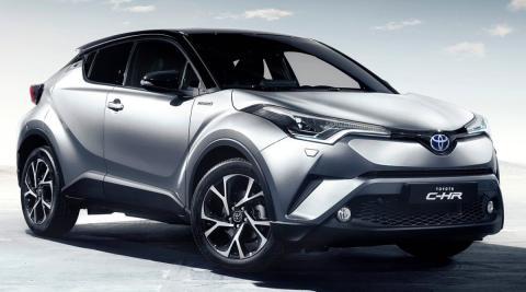 Todo lo que ya debes saber sobre el nuevo Toyota C-HR