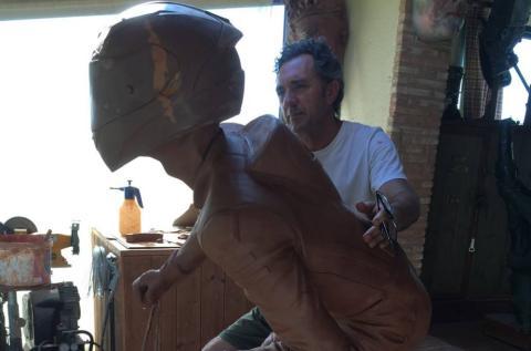 Dani Rivas tendrá una estatua de gran tamaño en Moaña