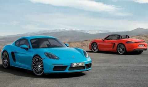 Los planes de Porsche para el Boxster y el Cayman