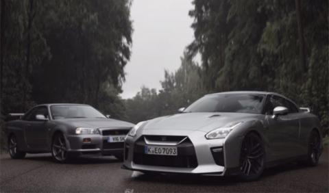 Duelo Nissan GT-R: Godzilla se enfrenta a Godzilla Jr.
