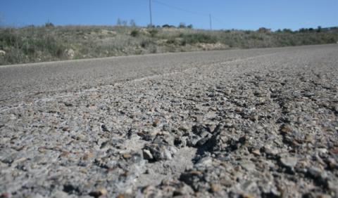 La inversión en carreteras, como en los años ochenta