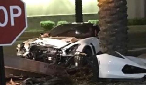 Vídeo: brutal accidente de un Corvette Z06