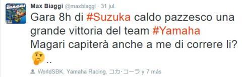 Twitter Max Biaggi