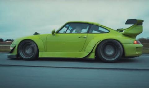 Porsche 911 RWB, muy pero que muy bruto