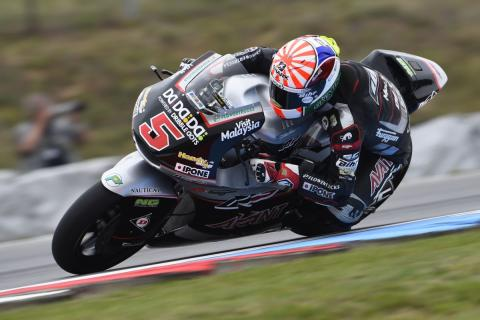 Libres Moto2 Brno 2016: Zarco sigue intratable