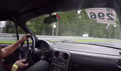 ¿Podrá un Mazda MX-5 con un Porsche GT3 y un Ferrari 488?