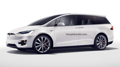 Monovolumen Tesla