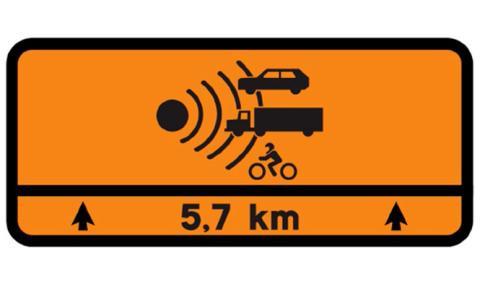 ¿Sabes qué significa esta señal de tráfico?