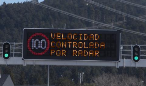 Los paneles chivatos llegan a las carreteras españolas