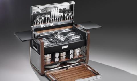 La cesta de picnic más lujosa del mundo es de Rolls-Royce