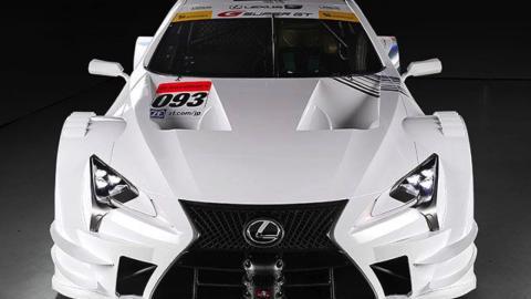 Lexus LC 500 Super GT frontal