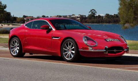coches modernos frontal antecesores Jaguar F-Type
