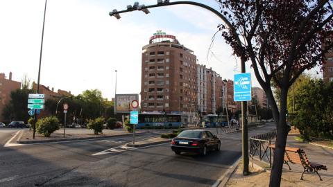 tramo controlado por el radar comienza en la glorieta de Cádiz