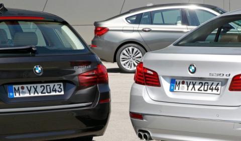 BMW Serie 5 2017: primer vídeo teaser antes de París
